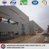 Magazzino strutturale d'acciaio Pre-Costruito /Shed del blocco per grafici dello spazio per la fabbrica