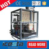 Máquina de gelo da câmara de ar da qualidade superior de Icesta com máquina de embalagem 5t/24hrs