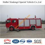 carro de bombeiros resistente de controle remoto Euro4 da água da bomba de incêndio de 6ton bom Dongfeng
