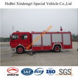 6tonよいDongfengの火ポンプリモート・コントロール頑丈な水普通消防車Euro4