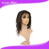 Peluca del pelo de la Virgen de la onda de Ody peluca brasileña del frente del cordón del pelo de 12 pulgadas