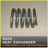 De hete Verkopende Warmtewisselaar van de Lucht van het Roestvrij staal Met Spiraalvormige Buis
