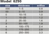 Vorbildliche 6290nff Harris Düsen-Spitze der Ausschnitt-Spitze-Öffnungs-0.8-3.5