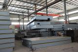 Маштабы тележки Scs100t веся для утеса задавливая завод (3X12m)