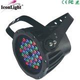 Luz al aire libre impermeable 36X3w RGB de la luz LED del punto de la etapa para la iluminación del jardín