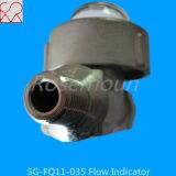 Indicateur de flux de bille d'ajustage de précision de pipe de fournisseur chinois