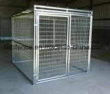 Chambre sûre d'animal familier extérieur de maillage de soudure/chenil de crabot/cage galvanisés de crabot