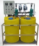 Strumentazione di trattamento delle acque con il prodotto chimico