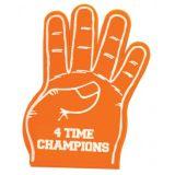 خمسة أصابع زبد يد مع طباعة زبونة علامة تجاريّة