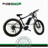 Bicyclette électrique de batterie au lithium d'excursion de montagne