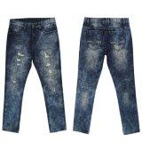 上の販売の最新のデザイン2017本の夏の人のジーンズ(MYX10)