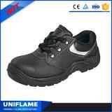 Chaussures de sûreté en acier de cuir de tep pour les hommes Ufa019