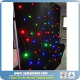 Rideau en étoile de DEL/tissu éclairages LED d'étoile/doucement tissu de DEL