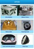 Macchina del metallo della marcatura del laser dell'indicatore del laser della fibra di CNC della Tabella 30W
