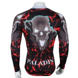 Куртка спортов способа привидения холодная покрывает втулка Breathable быстро сухой задействуя Джерси людей длинняя