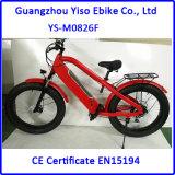 Hola bici gorda eléctrica 1000W de la suciedad de la bici de la montaña de la potencia