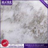 Azulejo de suelo gris rústico de la fábrica de Foshan de la cerámica de Juimsi 600X600m m