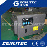 空気によって冷却される無声ディーゼル電気発電機10kVA