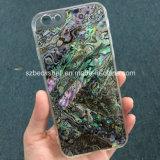 Eindeutiger Art-Telefon-Deckel mit natürlichem Shell für iPhone6/6s