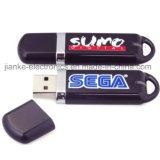 Disco de destello del USB de la insignia de la impresión de alta velocidad para los regalos del asunto (100)