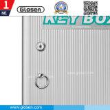 Schlüsselmarken-Schlüsselkasten des Haushalts-Aluminium-120 mit Verschluss
