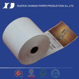 Roulis thermique de papier de caisse comptable de pâte de bois de 100%