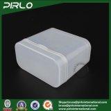 100g半透明なカラーPPプラスチック正方形整形ボックスHingのふたPPのプラスチック綿綿棒ボックスが付いているプラスチック有用な記憶の瓶