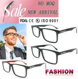Ultimo italiano Eyewear del telaio dell'ottica del telaio dell'ottica di Eyewear di modo del blocco per grafici degli uomini di vetro