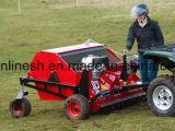 5.5HP Slepen ATV/Quad/UTV/Tractor van de Motor van Honda het Gemotoriseerde achter Veger/de Reinigingsmachine van de Collector/van de Paddock/de Collector van het Gras/de Collector van de Mest van de Mest van het Paard van de Veger van de Paddock