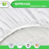 La alta calidad impermeabiliza el protector laminado del colchón del paño de Terry del poliester del algodón el 20% del 80% TPU