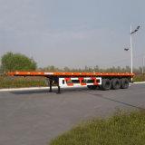 Semi Aanhangwagen van de Container van de Fabrikanten van de Aanhangwagen van de Vrachtwagen van Sinotruk Flatbed voor Verkoop