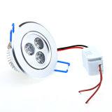 LEDの天井のDownlightによって引込められる引込められたキャビネットの壁の点のライトダウンランプの点ライト