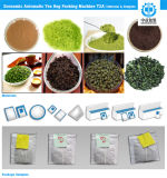 Empaquetadora usada ND-T2a de múltiples funciones del bolso de té de la fábrica (bolso interno con la cuerda de rosca, la etiqueta)