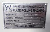 máquina de rolamento mecânica da placa de aço de 1.5m (W11F-8X1550)
