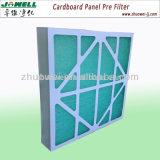 Media del rodillo del filtro de la fibra de vidrio de la parada de la pintura de la toma de aire del techo de la alta calidad