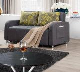 Bâti de sofa fonctionnel avec la mémoire et sacs de magasin pour la chambre de hôtel ou l'usage domestique