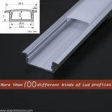 Vertieftes Aluminium-Kanal-Licht des LED-Profil-Diffuser/LED