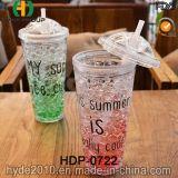 フリーザー(HDP-0722)が付いているBPAのプラスチックタンブラーを自由に飲むレモンジュース