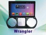Sistema Android do reprodutor de DVD do carro para o Wrangler 10.1 polegadas com navegação do GPS