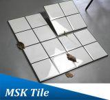 300X300 quere weiße keramische glasig-glänzende Wall&Floor Fliese