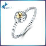Prata esterlina do original 925 meu anel a céu aberto da prata da jóia do coração do amor um verdadeiro