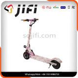 Scooter elétrico de equilíbrio de veículo elétrico rosa (adicione almofada)