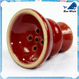 1 manguito cachimba de cristal roja de la calabaza de 10 pulgadas