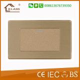 Klassischer Entwurfs-hochwertige Edelstahl-Wand-Schalter-Kontaktbuchse (CER Zustimmung)