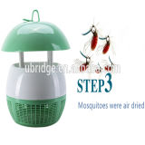 Nenhuma lâmpada energy-saving do assassino do mosquito do ruído
