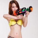 728219 플라스틱은 전자총 물 사수 아이 1200ml 219를 위한 재미있은 전자총 장난감을 - 무작위 색깔 분출한다