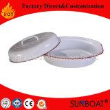 Esmalte de Sunboat que cozinha o dispositivo de cozinha do Kitchenware/do Roaster de Turquia do esmalte do potenciômetro