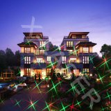 Proyector de interior/al aire libre del movimiento estrellado de la Navidad del laser