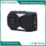 GPSの夜間視界1296pの警察のボディによって身に着けられているカメラ