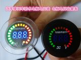 12V метр цифровой индикации водоустойчивый Volt+Battery DC цвета СИД